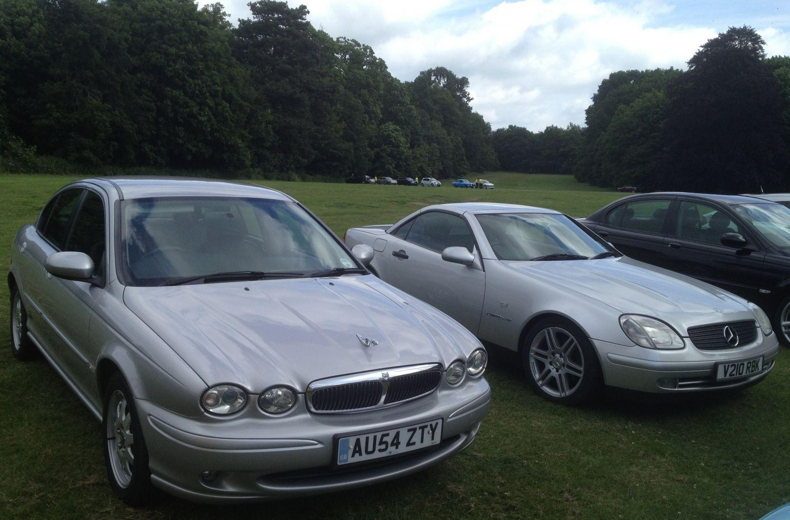 My xtype and my slk at thorsby