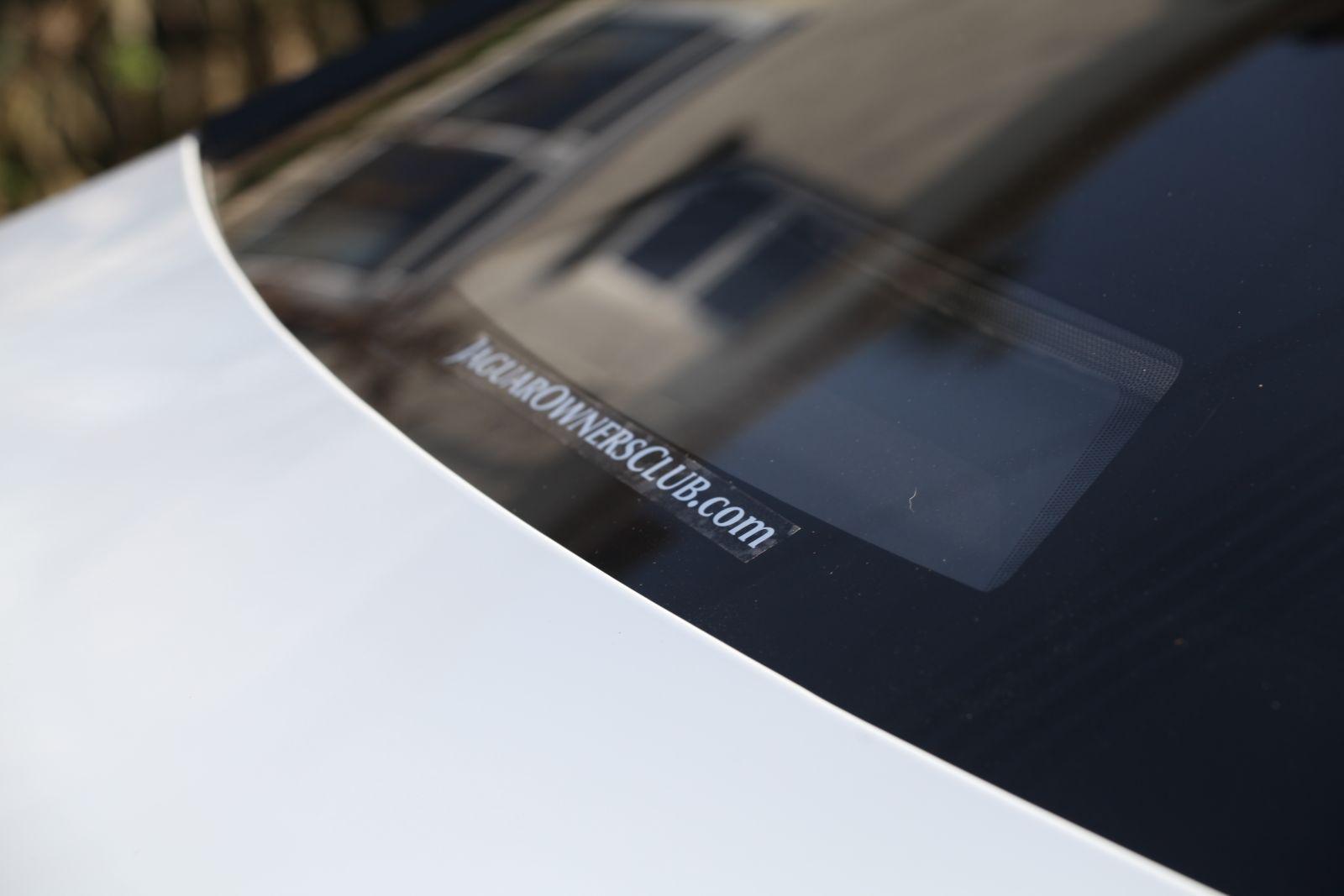 Jaguar XJ Supersport Owner's club sticker