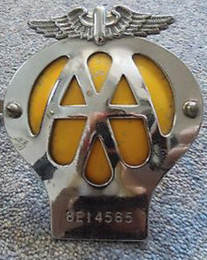1966 AA badge