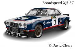 Jaguar XJ Racing Car By preHEstoric