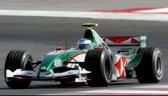 1 43 scale 143 minichamps jaguar racing R5 friday practice Car B wirdheim