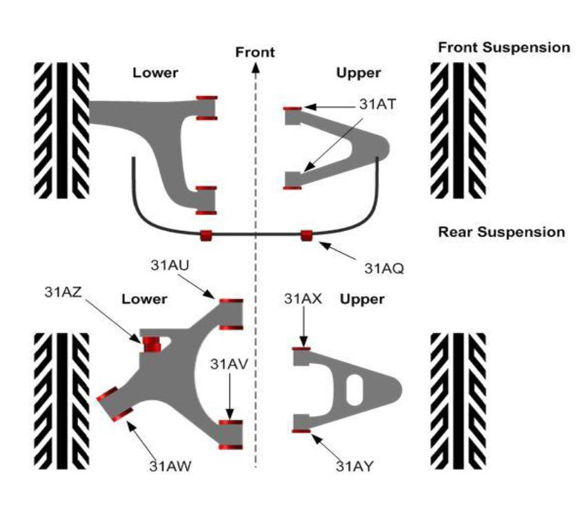 jaguar xk8 front suspension diagram  jaguar  auto wiring