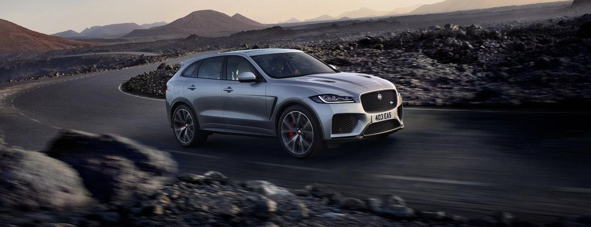 F-Pace SVR makes UK debut at Goodwood Festival of Speed